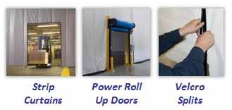Warehouse Divider Curtains Strip Curtains Curtains Roll Up Doors