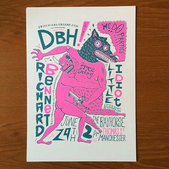 Gig Posters - www.jakeb.org