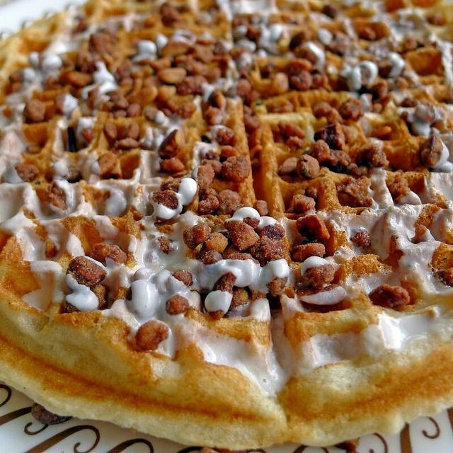 Cinnamon Praline Waffle Waffle House Waffle Maker Recipes Breakfast Bites Waffle Iron Recipes