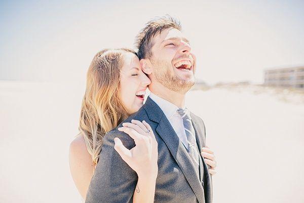 The perfect happy wedding day photo