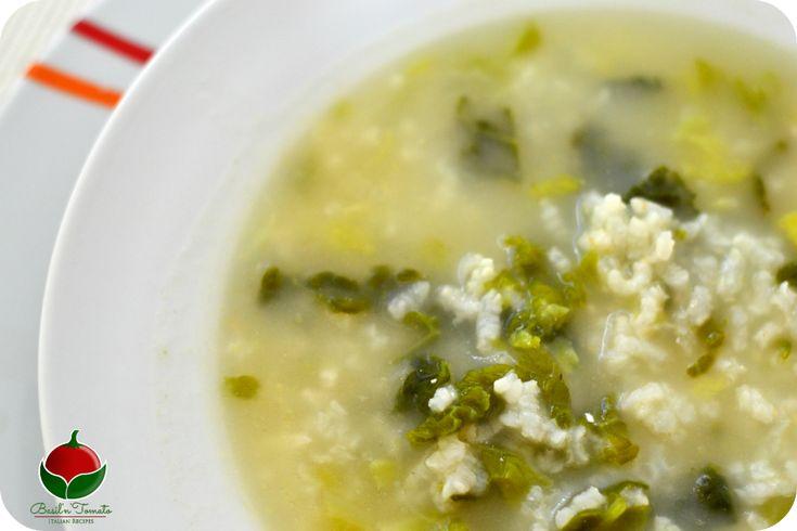 La minestra di verza e riso classica