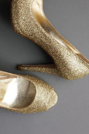 you have to own a pair of glittery heels at least once ;]