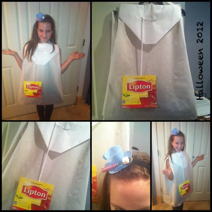 Tea Bag Costume