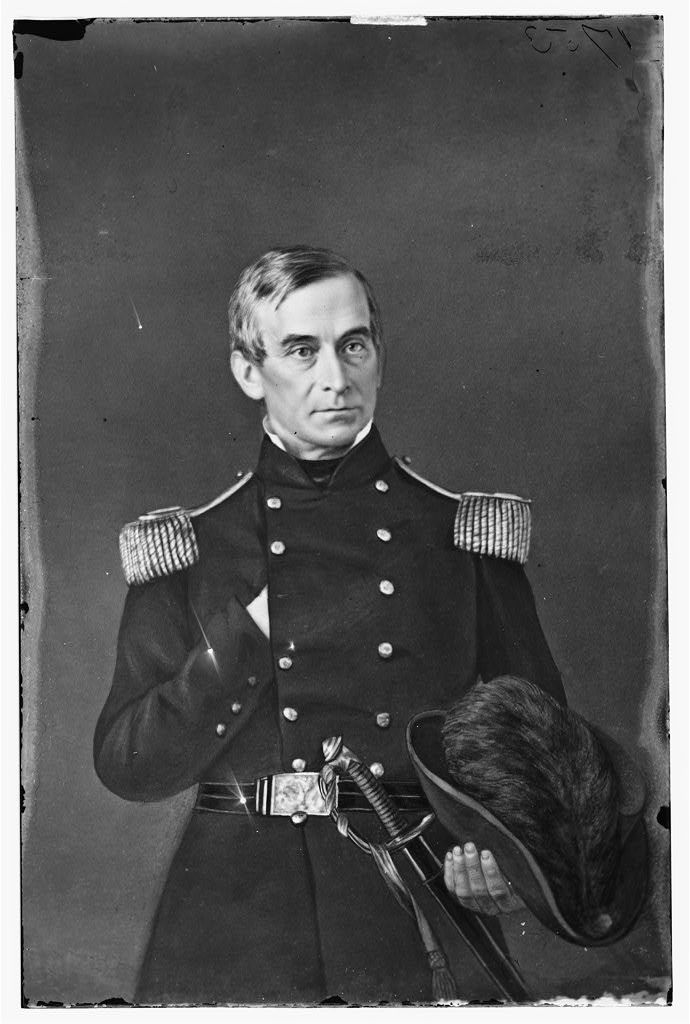 General Robert Anderson - commander at Fort Sumpter before the fall.