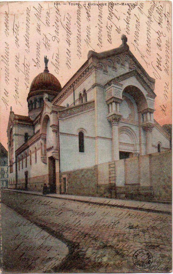 Tours Grand Bazar Postcard 101 Basilique Saint-Martin