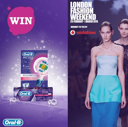 FREE Vodafone London Fashion Week Tickets - Gratisfaction UK Freebies #london #fashionweek #freebies #freestuff