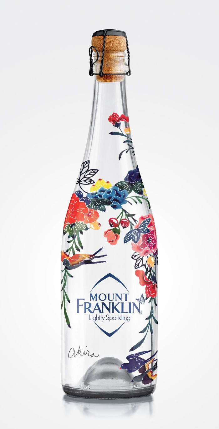 Mount Franklin Lightly Sparkling is a limited edition Bird Garden Design by…