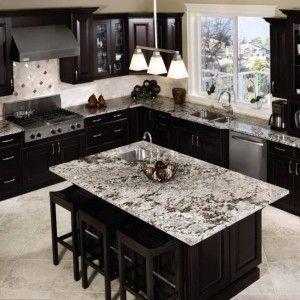 26 best White ice kitchen images on Pinterest | Dark cabinets ...