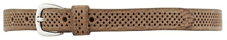 11206 narrow belt, 2 cm, cognac.