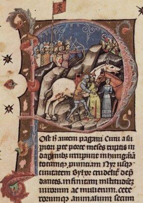 Szent László és a kun vitéz küzdelme a lányért