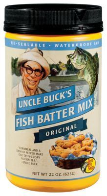 Uncle Buck's Fish Batter Mix - Original - 22 oz.