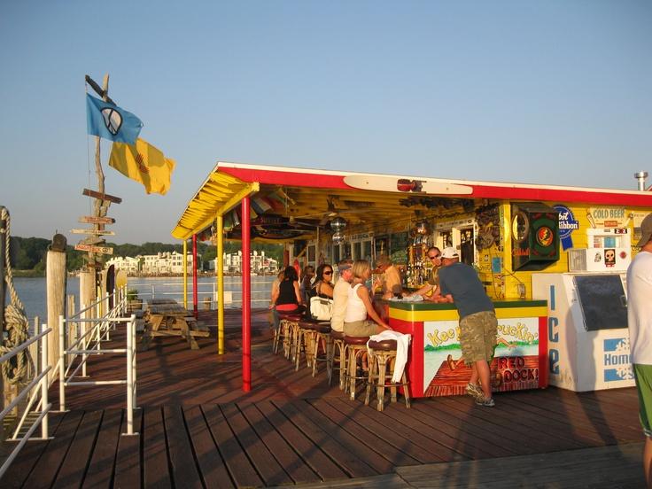 Red Dock Bar, Saugatuck, Michigan