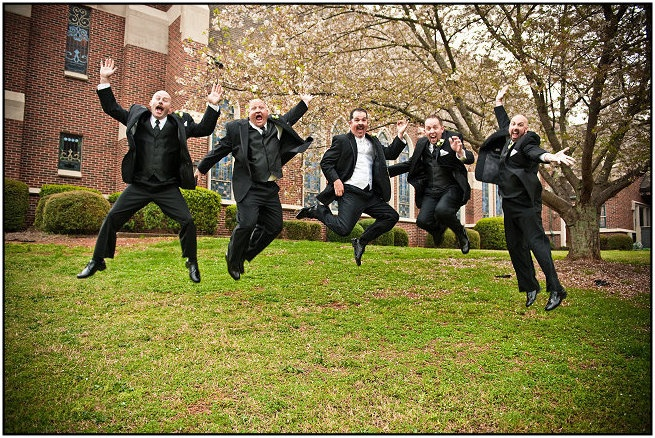 Real Wedding Paris Mountain Photography Groomsmen Wedding Group Photos Fun Poses