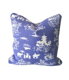 'Chinois Soiree' Cushion Cover by Ivy & Piper