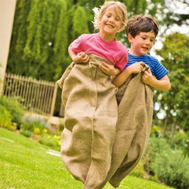 yeahh... sack race!!! lets add this!