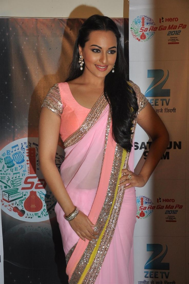 Sonakshi Sinha In Beautiful Saree
