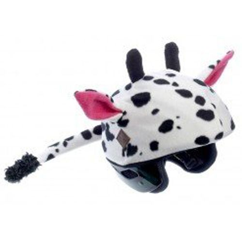 Cow Helmet Cover - One Size Fits All Kids Sports Helmets - For Bike, Skateboard, Rollerblade, Ski, Snowboard, Hockey, Toboggan, Skate, Equestrian, Bicycle - Superb Quality - Safety & Fun Combined