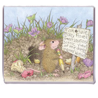 """""""Refrigerator Magnet"""", Stock #: M-2017-4, from House-Mouse Designs®. This item was recently purchased off from our web site. Click on the image to see more information."""