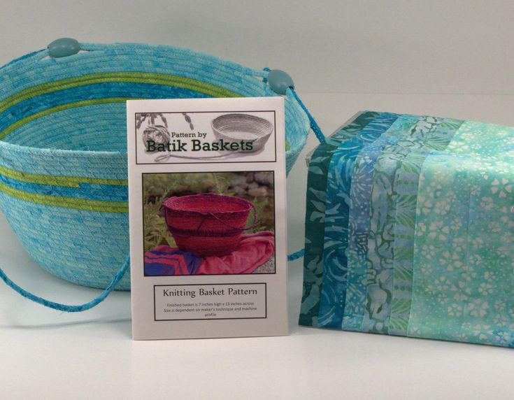 A personal favorite from my Etsy shop https://www.etsy.com/ca/listing/472252546/coiled-cord-knitting-basket-kit