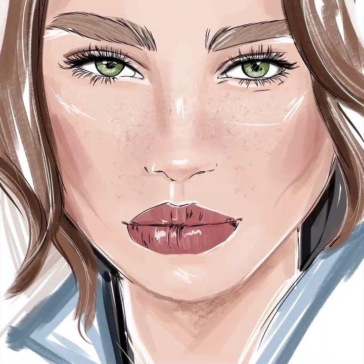 112 отметок «Нравится», 14 комментариев — Цифровой иллюстратор (@kaftaylova_art) в Instagram: «Рисовала сегодня эту иллюстрацию под прямой эфир о развитии личного бренда в инстаграм, мне так…»