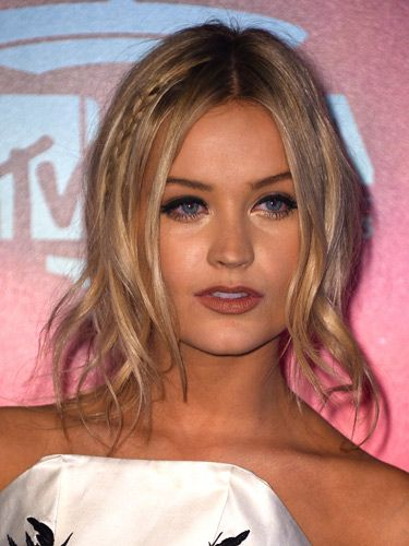 Wispy waves and pretty braids - Laura Whitmore shows us how to do party perfect hair