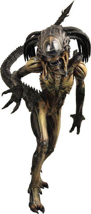 The Hybrid Predator-Xenomorph action figure from Alien Vs Predator - Requiem