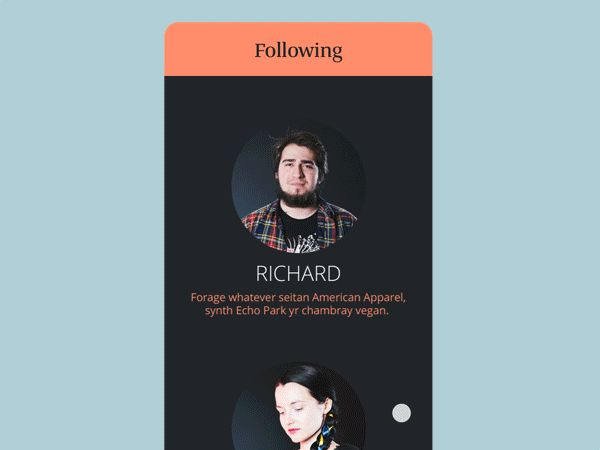 Mobile Animations & Interactions on Behance