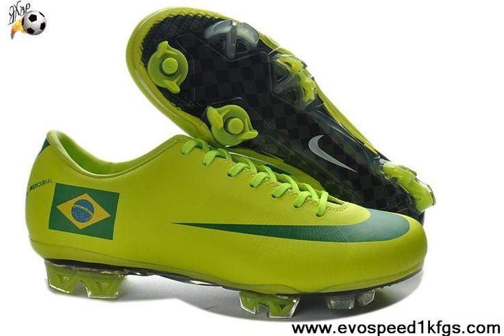 Cheap Nike Mercurial Vapor Superfly III FG Brazil Home Team Soccer Boots For Sale