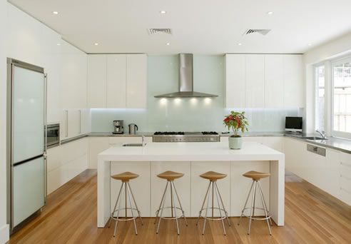 kitchen with natural and engineered #stone surfaces WK Marble and Granite