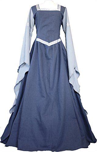 Dornbluth Damen Mittelalter Kleid Hermia Leinen (32/34, I... https://www.amazon.de/dp/B00MZ04UPO/ref=cm_sw_r_pi_dp_x_yA2fyb5Q2E3Y5