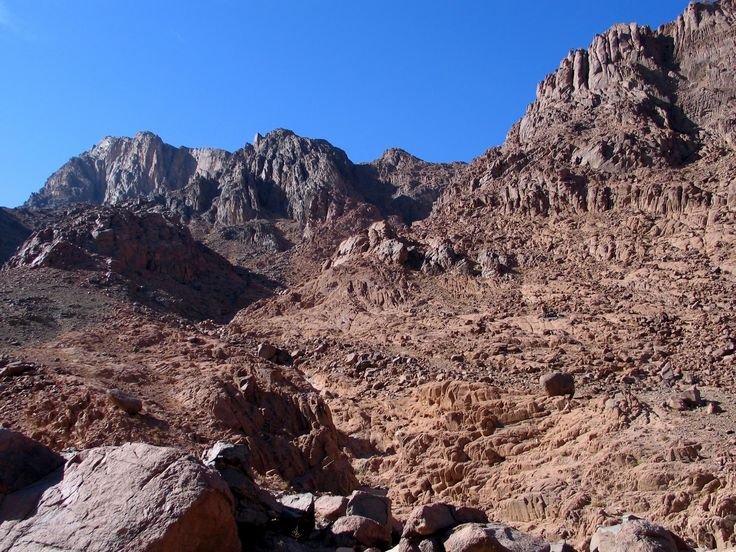 Mount Sinai Summit Loop, Sinai Peninsula, Egypt.