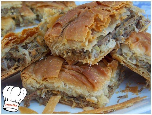 ΚΡΕΑΤΟΠΙΤΑ ΠΕΝΤΑΝΟΣΤΙΜΗ!!!   Νόστιμες Συνταγές της Γωγώς