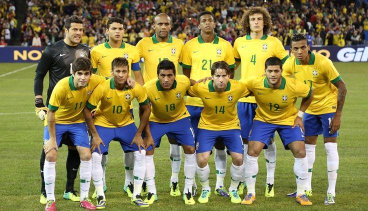 Seleção Brasileira de 2014  Foto:Divulgação