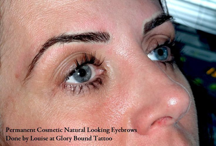 Cosmetic Brows done by Louise yesterday at Glory Bound Tattoo. Please feel free to share this post to boost our page. Pictures taken immediately after treatment. Client over the moon with them