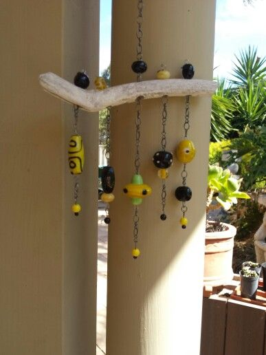 My 1st wind chime thanks Pintrest for the inspiration ♥