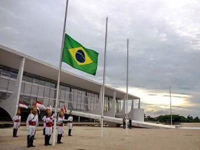 """"""" BLOG do Ivan maia """" GUAPIMIRIM REAGE BRASIL.: Bandeira Nacional a meio mastro para um criminoso,..."""