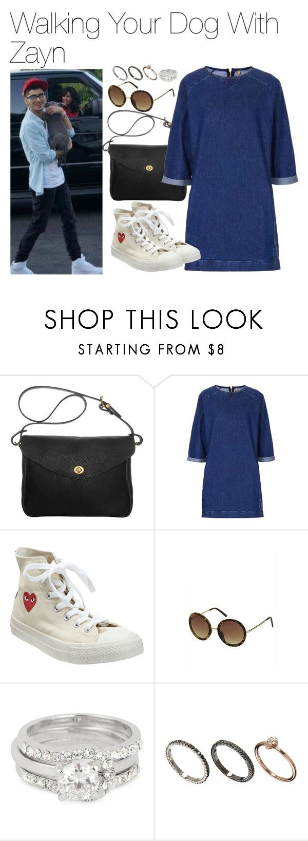"""""""Walking Your Dog With Zayn"""" by onedirectionimagineoutfits99 ❤ liked on Polyvore featuring Mimi Berry, Topshop, Converse, Jon Richard and Orelia"""