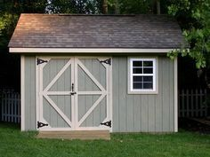 shed doors | Shed Plans - Storage Shed Plans. Free Shed Plans. Build a gable ...