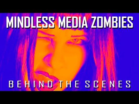 Mindless Media Zombies - Behind The Scenes - YouTube