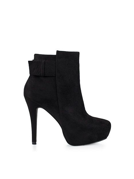 Low Heel Ankle Boot - Nly Shoes - Musta - Juhlakengät - Kengät - Nainen - Nelly.com