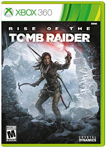 Rise of the Tomb Raider  Xbox 360  Xbox 360 Standard Edition *** Check this awesome product by going to the link at the image. Note:It is Affiliate Link to Amazon.