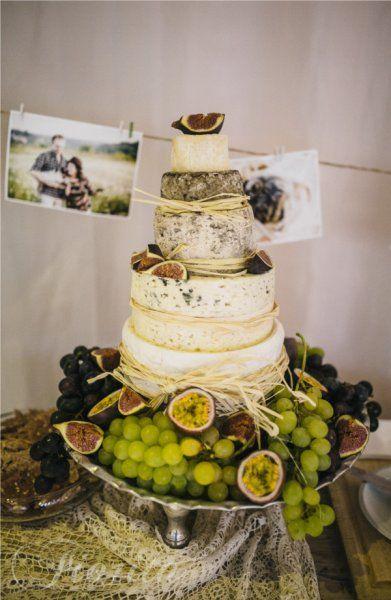 Svatební hostina ve stylu Shabby Chic v restauraci Soho+, sýrový dort
