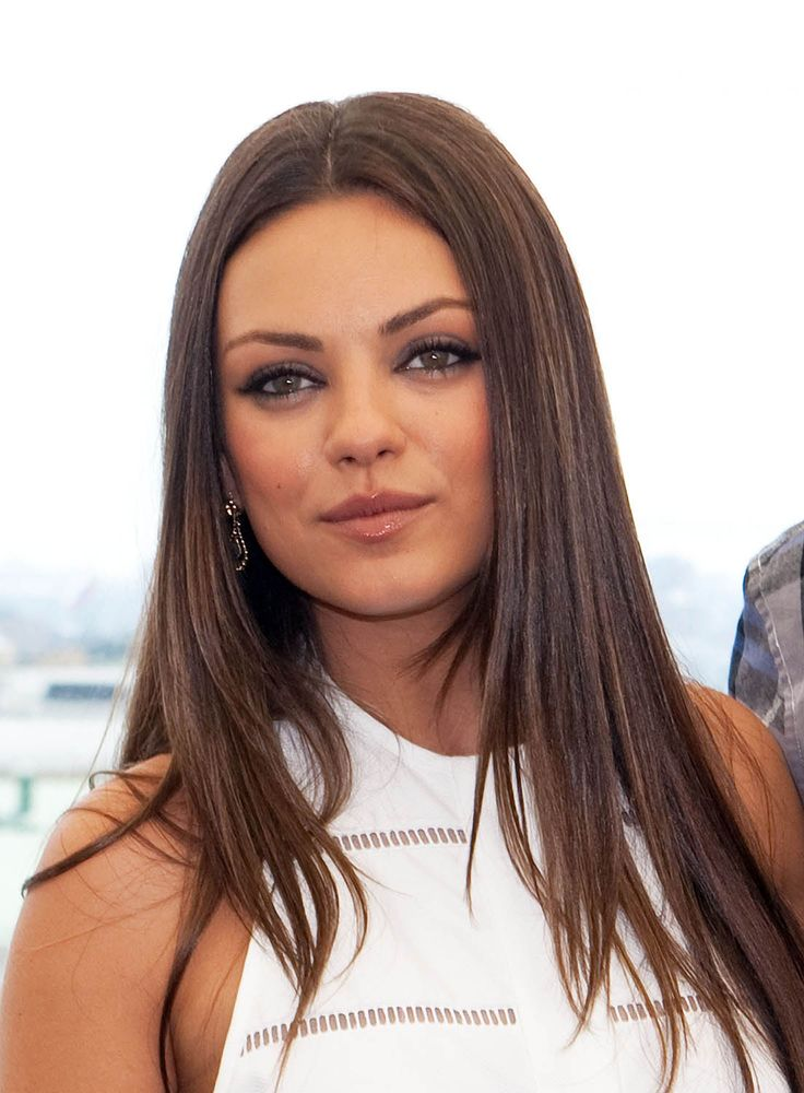 Image detail for -Mila Kunis : Friends with Benefits Photocall in Moscow, July 27 - mila love her hair