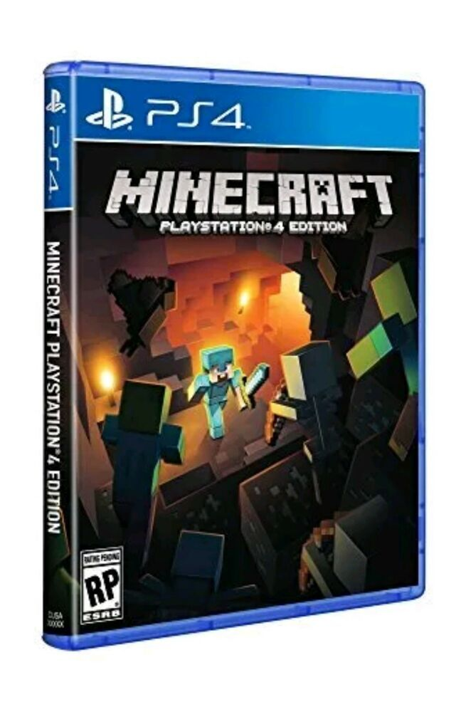 Minecraft Playstation 4 Edition Ps4 Brand New Sealed Ps4