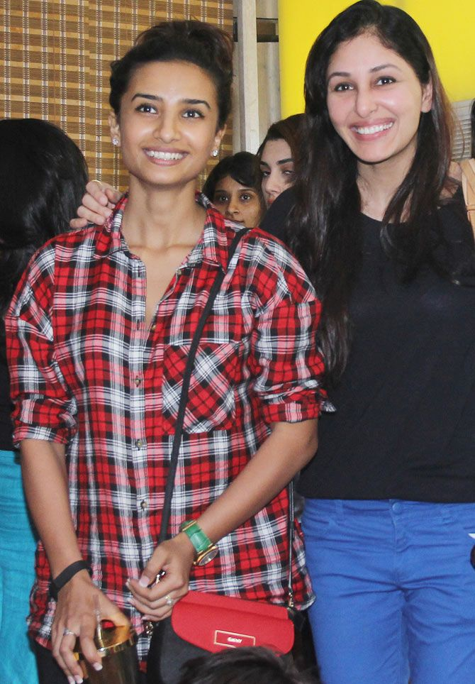 Patralekha and Pooja Chopra at Mukesh Chhabra's studio. #Bollywood #Fashion #Style #Beauty