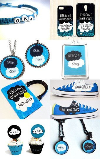 The Fault in Our Stars by John Green by Barbara on Etsy--Pinned with TreasuryPin.com