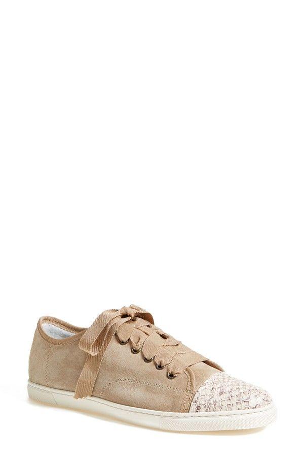 Lanvin Cap Toe Sneaker. Chaussures BeigesEspadrilles FemmesLanvinCréateur  ...