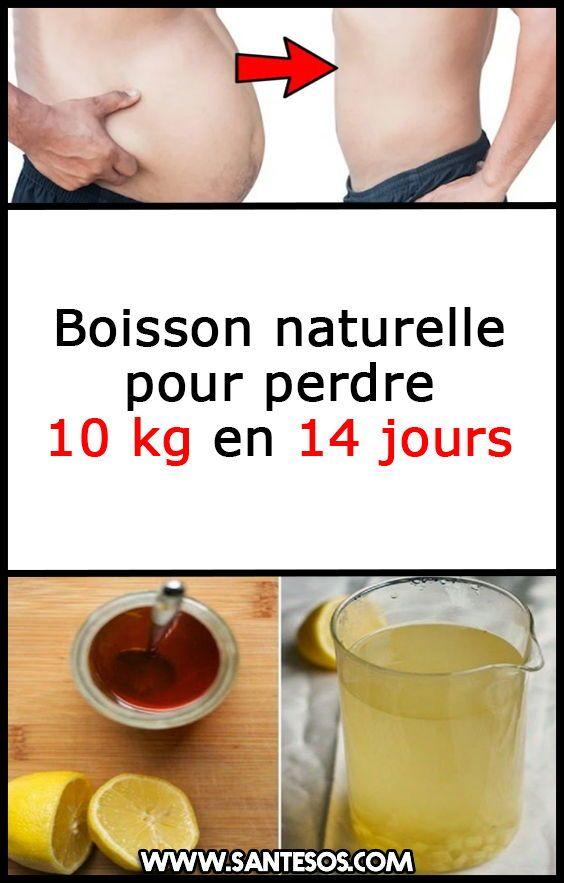 Boisson naturelle pour perdre 10 kg en 14 jours #