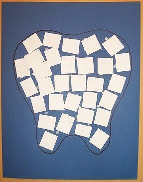 E B C De C C Ab B B D Dental Health Art Projects on dental health and teeth preschool activities lessons crafts