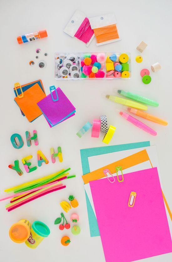Kid's Art Kit DIY / Pour les arts plastiques